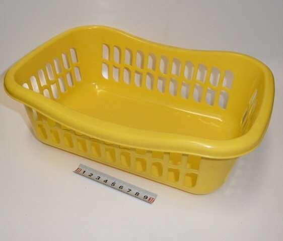 Košík brio - 29x20x10 - žlutý