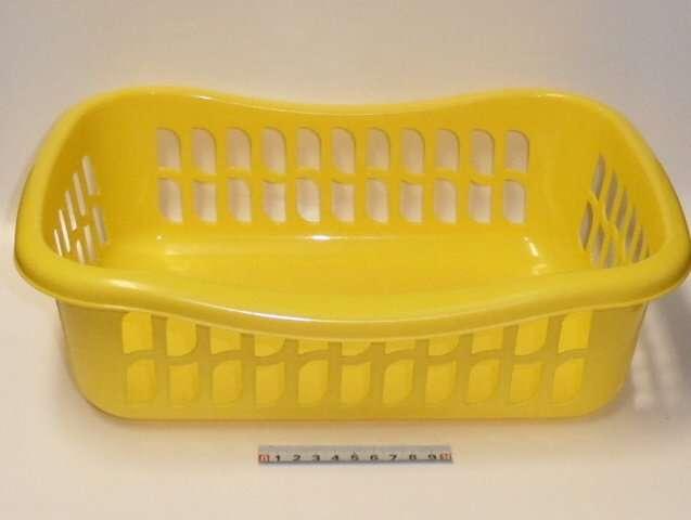 Košík brio - 36x25x11 - žlutý