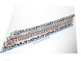 obojek Dalmatin 32-38cm - modrý