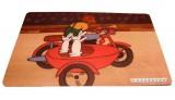 Prostírání dětské - Bob a Bobek - motorka
