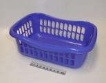 Košík brio - 29x20x10 - modro-fialový