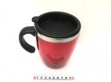 Termohrnek 450 ml - červený