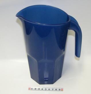 Karafa plast 1,75l - modrá