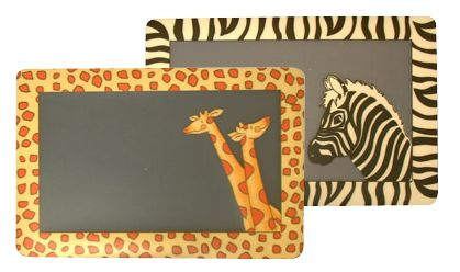 Prostírání čiré - žirafy