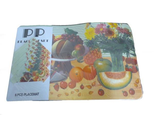 Prostírání 6+6 mix ovoce / 11262 Noname