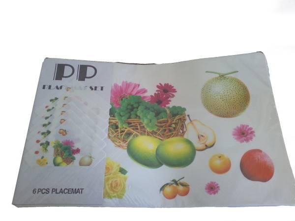 Prostírání 6+6 mix ovoce / 11261 Noname