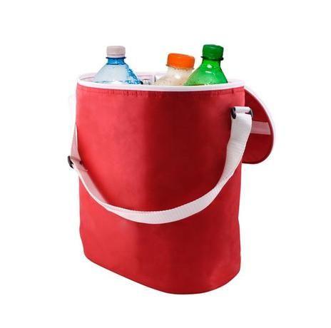 Termo taška na zip 29x18x32 cm - oranžová Toro