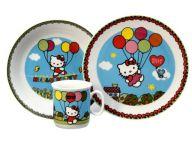 Thun Dětská souprava Hello Kitty 3 díly 222043