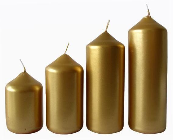 advetní svíčky 4ks barva zlatá 560132 Provence