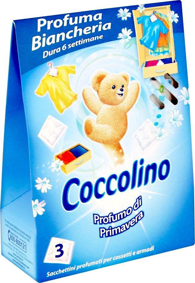 Coccolino Primavera vonné sáčky modré 3 ks Unilever