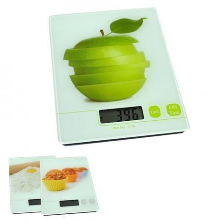 Digitální kuchyňská váha do 5ti kg motiv mouka Toro