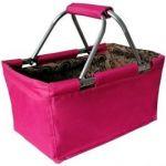 Toro košík nákupní skládací, 29L, růžový 263303