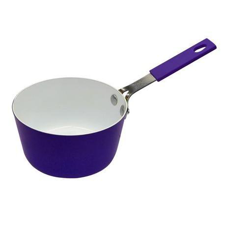Mini rendlík na mléko 375ml - fialový Toro