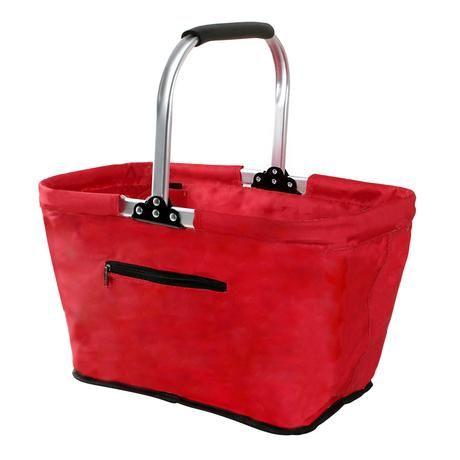 Nákupní košík skládací - červený 267341 Toro