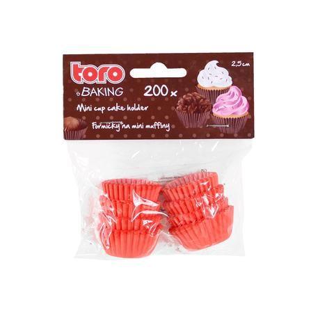Papírové košíčky na pečení mini muffinů 200 ks Toro
