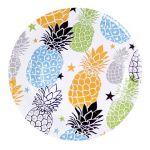 Toro Papírový talíř s motivem ananas 20 cm 6 ks 267319