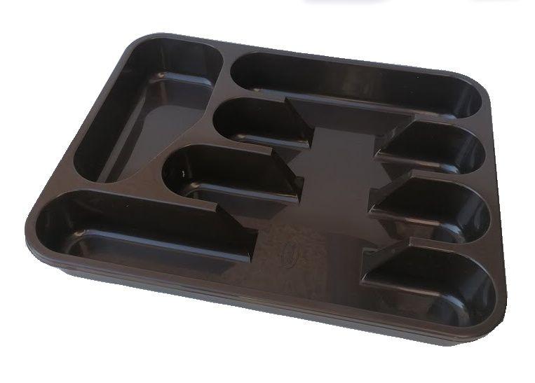 Příborník 26x33 cm - tmavě hnědý Tontarelli