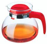 Simax Konvice sklo 1,5 L červená