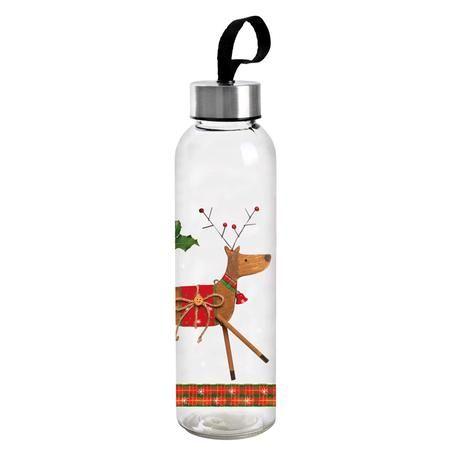 Skleněná láhev s víčkem Detox 500ml Sob Toro