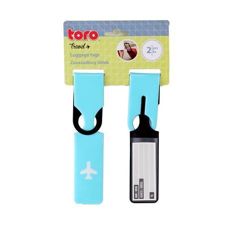 štítek na cestovní zavazadla Toro
