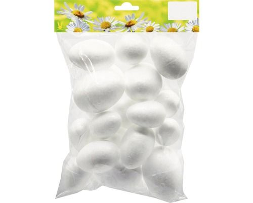 vajíčko z polystyrenu mix velikostí 20ks Geroma