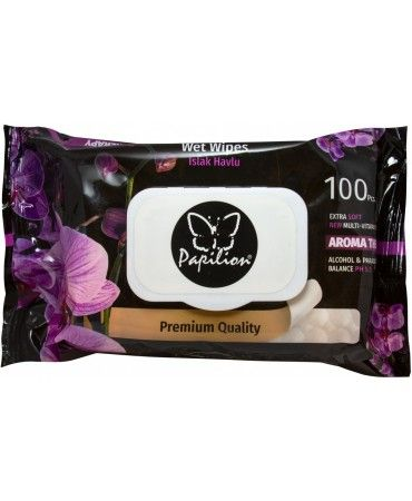 vlhčené ubrousky 100Ks - s vůní aromatherapy Papilion
