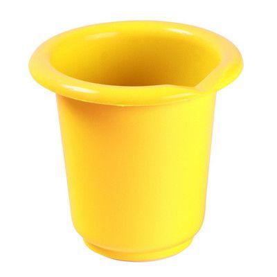 Vysoká mísa na šlehání s výlevkou, 1L, žlutá OKT