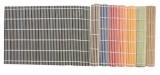 Prostírání bambus 4ks - 45x30cm - světle modré TORO