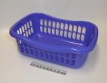 Košík brio - 23x16x8 - modro-fialový