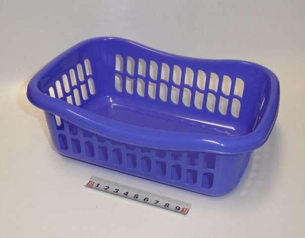 Košík brio - 23x16x8 - modro-fialový Tontarelli