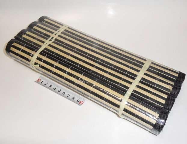 Prostírání bambus 4ks - 45x30cm - černé Toro
