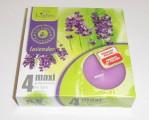 Admit svíčka čajová Maxi 4ks aroma - Levandule 602505