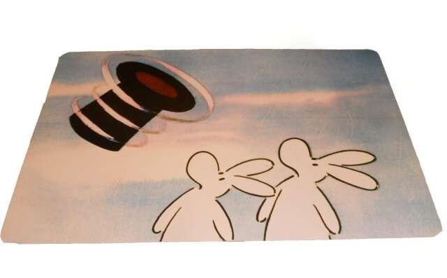 Prostírání dětské 44x28cm - Bob a Bobek - nebe, klobouk TORO