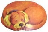 Prostírání pes 2D