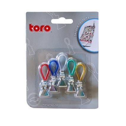 Skřipec na utěrky set 5ks Toro