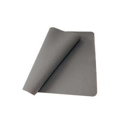 silikonový vál 52x42 cm, hnědý Toro
