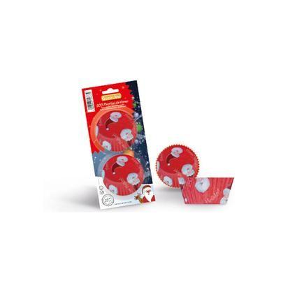 Formičky na Muffiny, 5cm, 200ks, papír, červené Toro