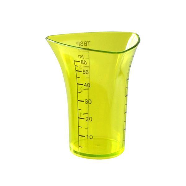 odměrka mini - plast 60ml - zelená TORO
