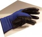 Uni Rukavice pracovní, polomáčené - modré 338148