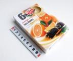 svíčka čajová 6ks aroma - pomeranč - vanilka 606633