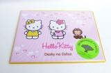 Desky na číslice 25x18cm - Hello Kitty
