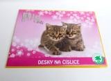 Desky na číslice 25x18cm - koťata