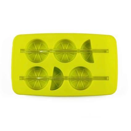 Forma silikon na led s brčkem, citrón, zelená TORO