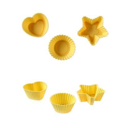 Formičky na pečení mini muffinů, krémové 32ks Toro