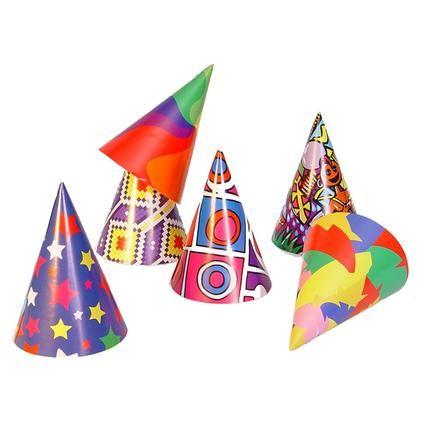 """Kloboučky """"párty"""" 6ks Arpex"""