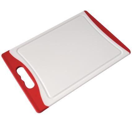 Krájecí deska plast červeno-bílá Toro