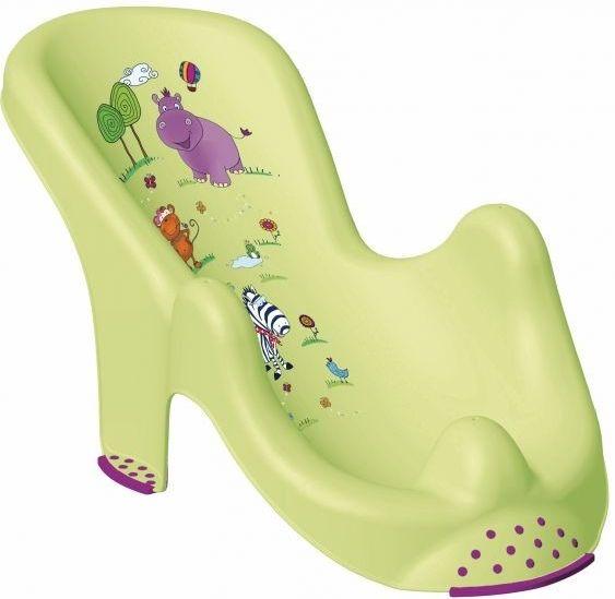 Lehátko ke koupání, Hippo, barva zelená OKT