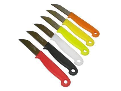 Nůž mini, 15x 1,5cm mix barev 1ks Toro