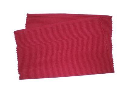 Prostírání žebrovaný profil, červené, 33 x 45 cm TORO