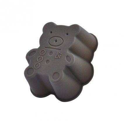 Silikonové mini formičky,Tvar medvídka, 3ks TORO